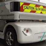 greenwich driverless vehicle