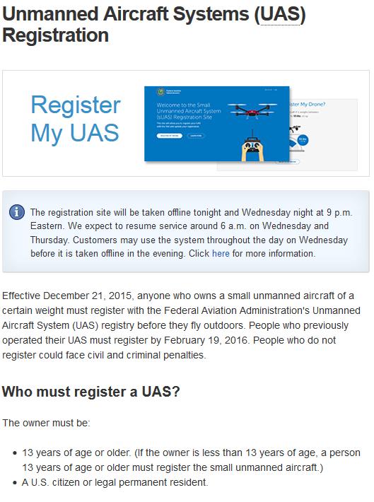 FAA drone registration skynetisreal